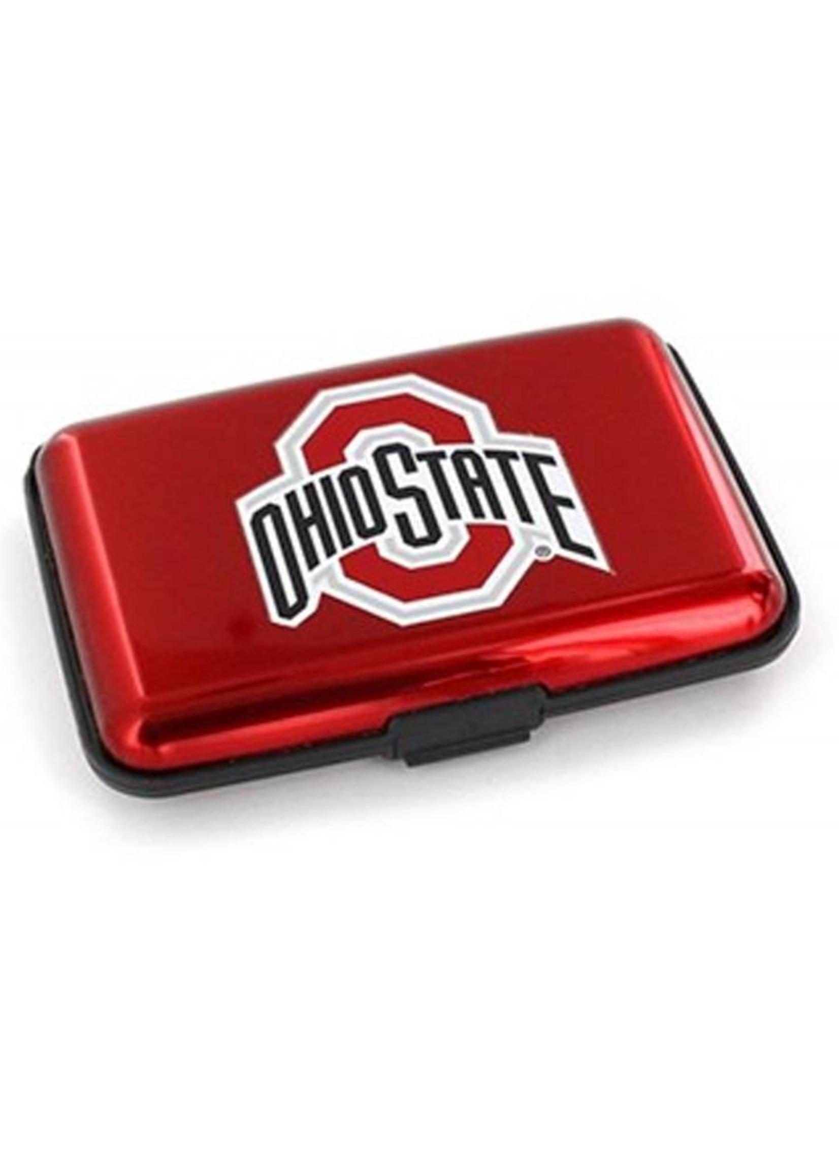 Ohio State University Aluminum Wallet with RFID Blocking