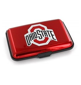 Ohio State University Aluminum Wallet with RFID Blocking