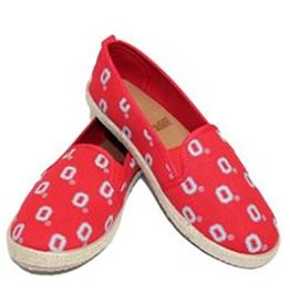 Forever Collectibles Ohio State University Team Logo Womens Shoes
