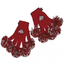 Wincraft Ohio State University Pom Pom Gloves
