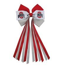 Ohio State University Streamer Bow