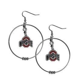 Ohio State University Athletic O Giant Hoop Earrings