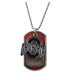 Ohio State University Dog Tag Necklace