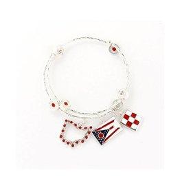 Ohio Traditions Wrap Bracelet