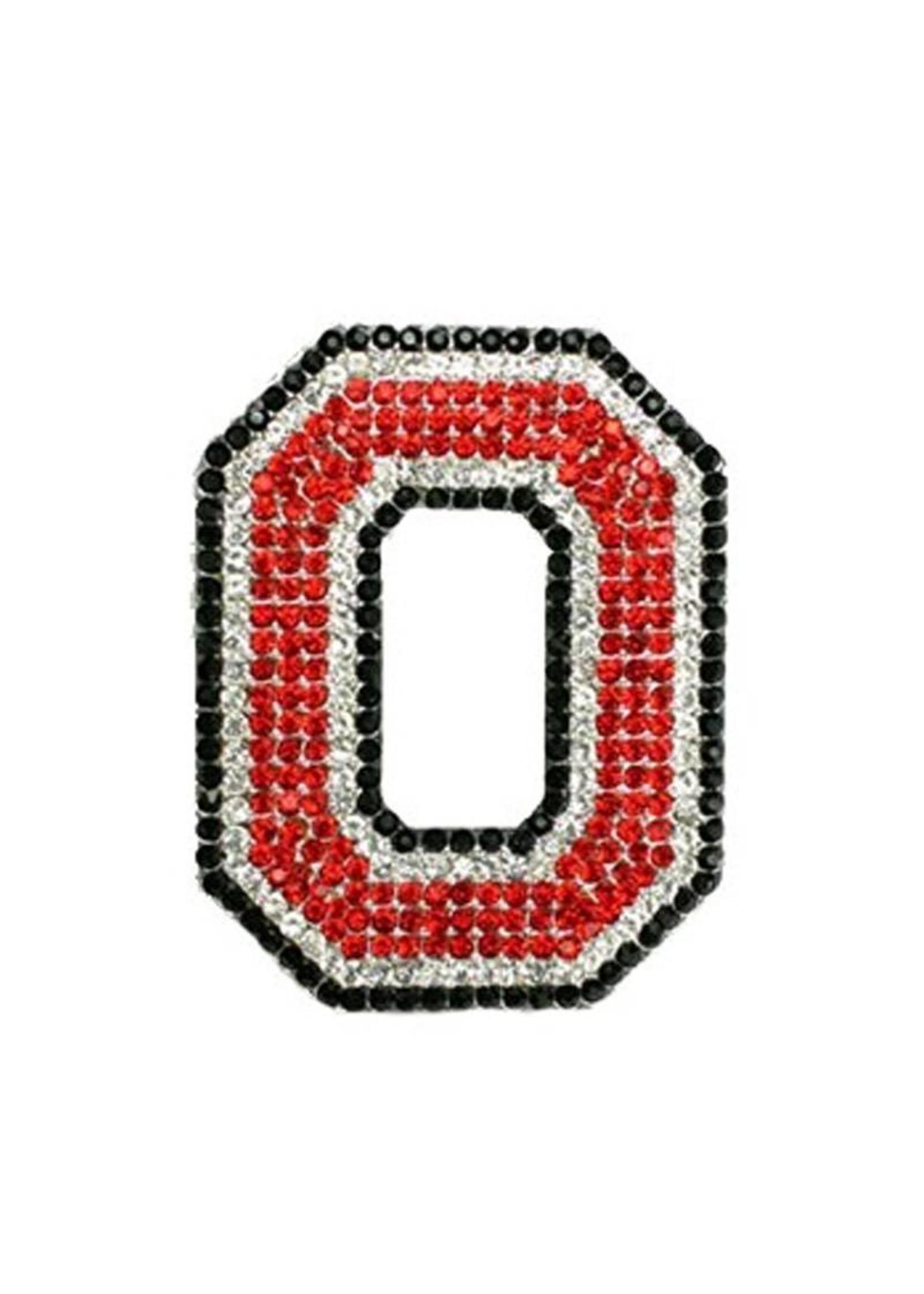 Ohio State University Crystal Block O Pin
