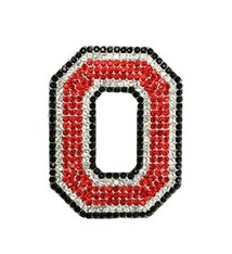 Ohio State University Crystal Block O Pin