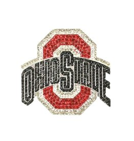 Ohio State Crystal Athletic O Pin