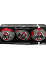 Ohio State University 3 Pack Rubber Balls