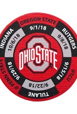 Ohio State University Golf Ball Marker 2018 Schedule