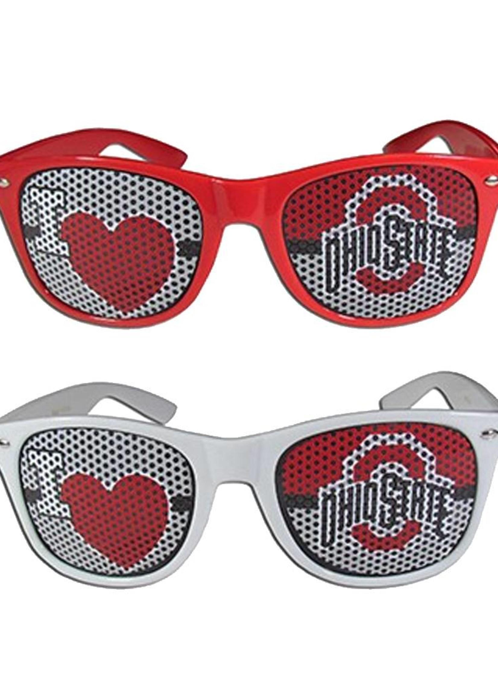 Ohio State University I Heart OSU Sunglasses