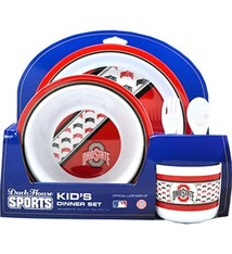 Ohio State University Kids Dinner Set