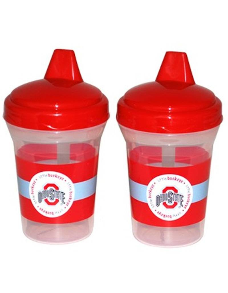 Ohio State University Baby Fanatic 2 Pack Spill-Proof Sippie Cups