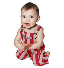 Scarlet & Grey Infant Overalls