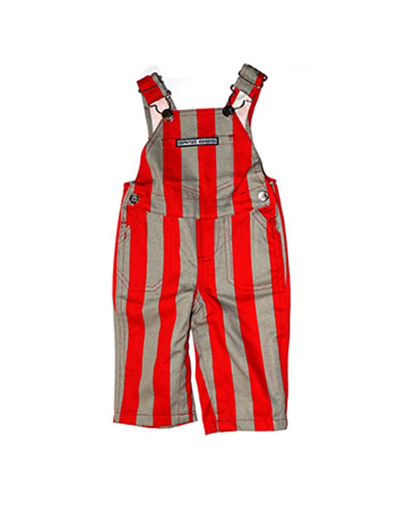 Scarlet & Grey Infant Overalls