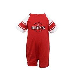 Ohio State University Hayden Buckeyes Romper