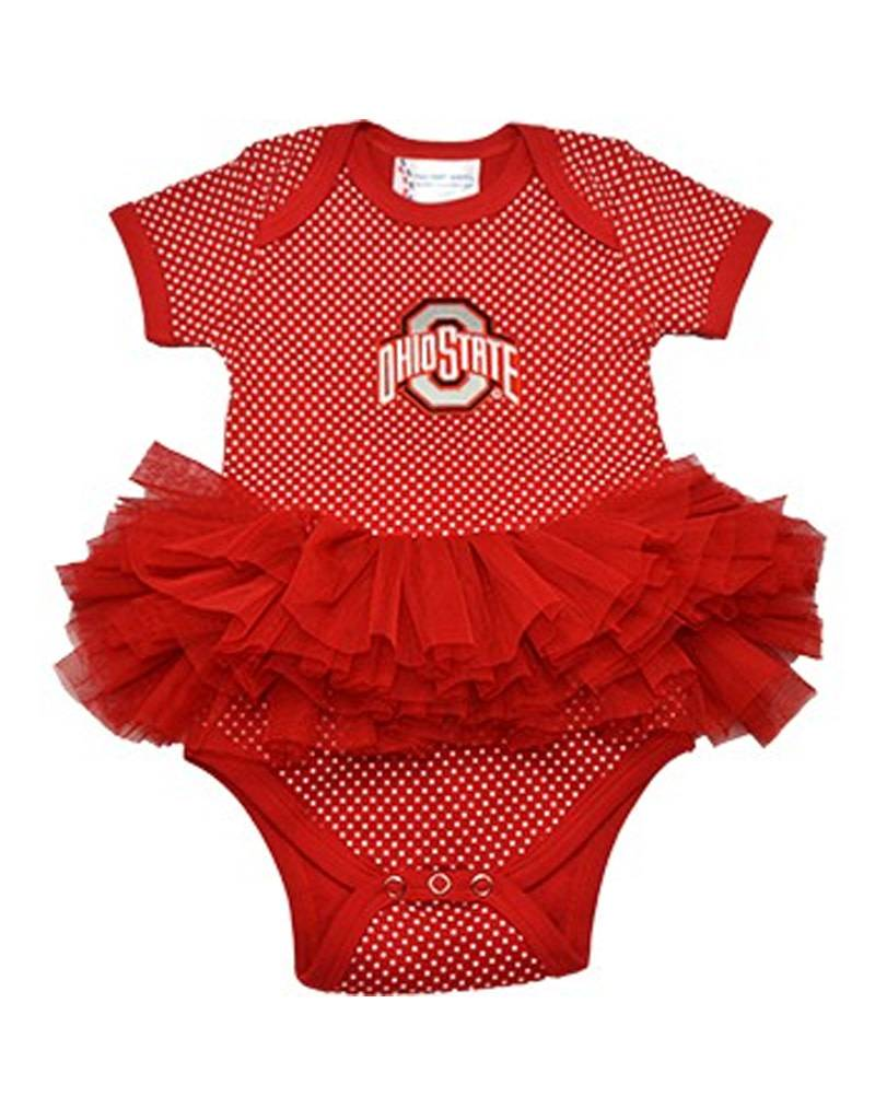 Ohio State University Pin Dot Tutu
