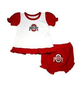 Ohio State University Girls Bloomer Set