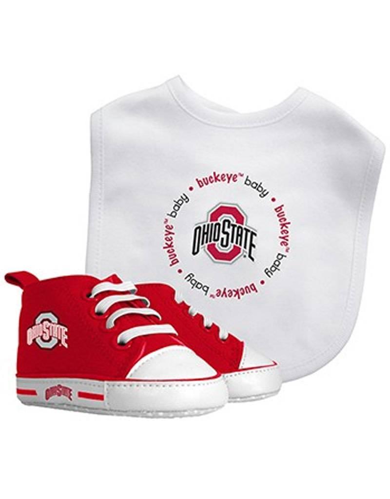 Ohio State University Bib & Pre Walker Set
