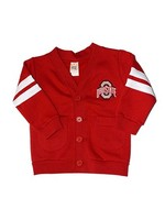 Ohio State University Toddler Striped Cardigan