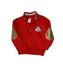 Ohio State University Toddler 1/4 Zip Fleece Pullover