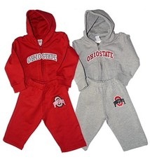 Ohio State Toddler Fleece Hoodie & Pant Set