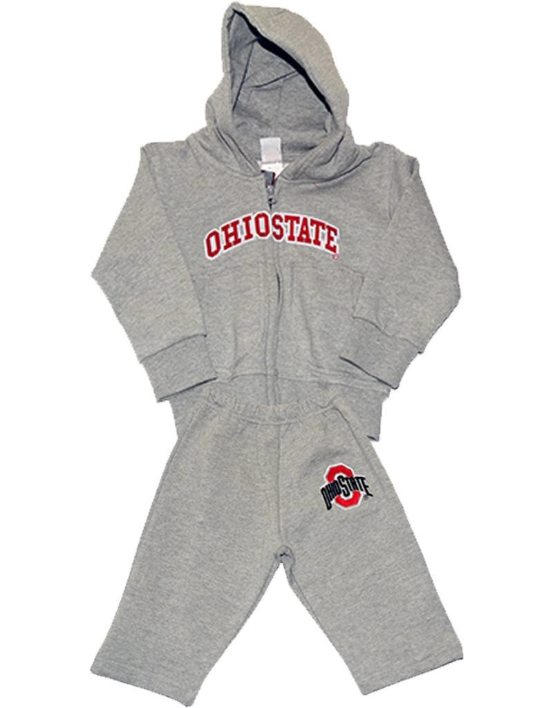 Ohio State University Toddler Fleece Hoodie & Pant Set
