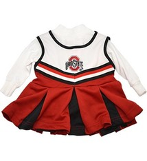Ohio State University Girls One Piece Cheer Jumper