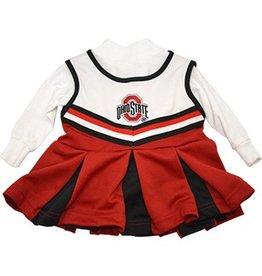Ohio State University Girls One Piece Cheer Jumper