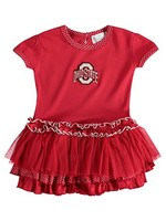 Ohio State University Pin Dot Tutu Dress