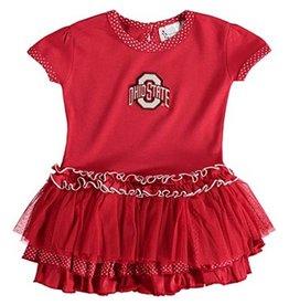 Ohio State University Pin Dot Tutu Dress