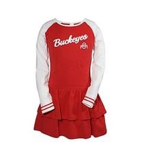 Ohio State University Toddler Kacey Long Sleeve Dress