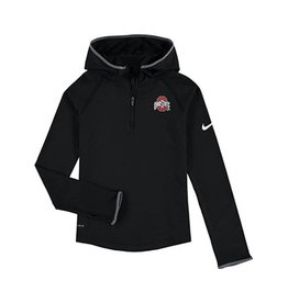 Nike Ohio State Nike Youth Girls Element Zip Hoodie