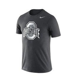 Nike Ohio State University Youth Silver Athetic O Tee