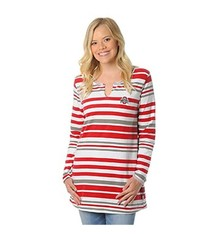 Ohio State University Striped Tunic Fleece