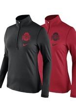 Nike Ohio State University Women's DriFIT Tailgate Half Zip