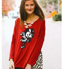 Gameday Couture Ohio State University Leopard Back Piko Top