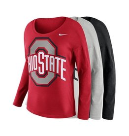 Nike Ohio State University Tailgate Long Sleeve Top
