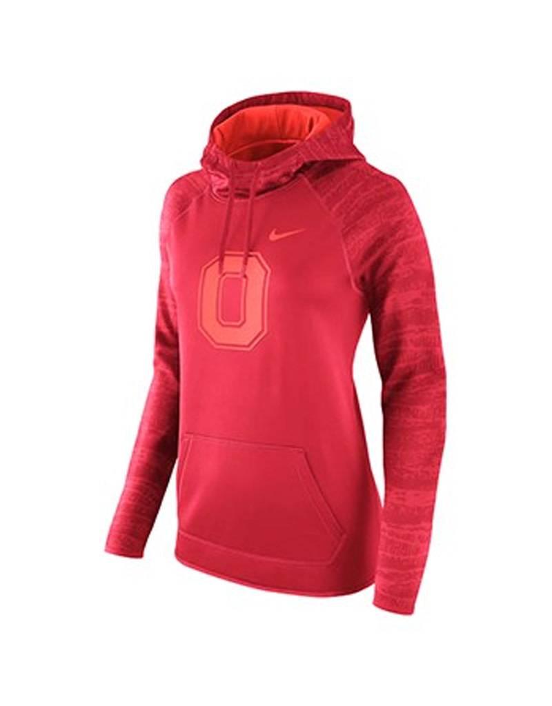 Nike Ohio State University Women's Nike Scarlet Performance Pullover Hoodie