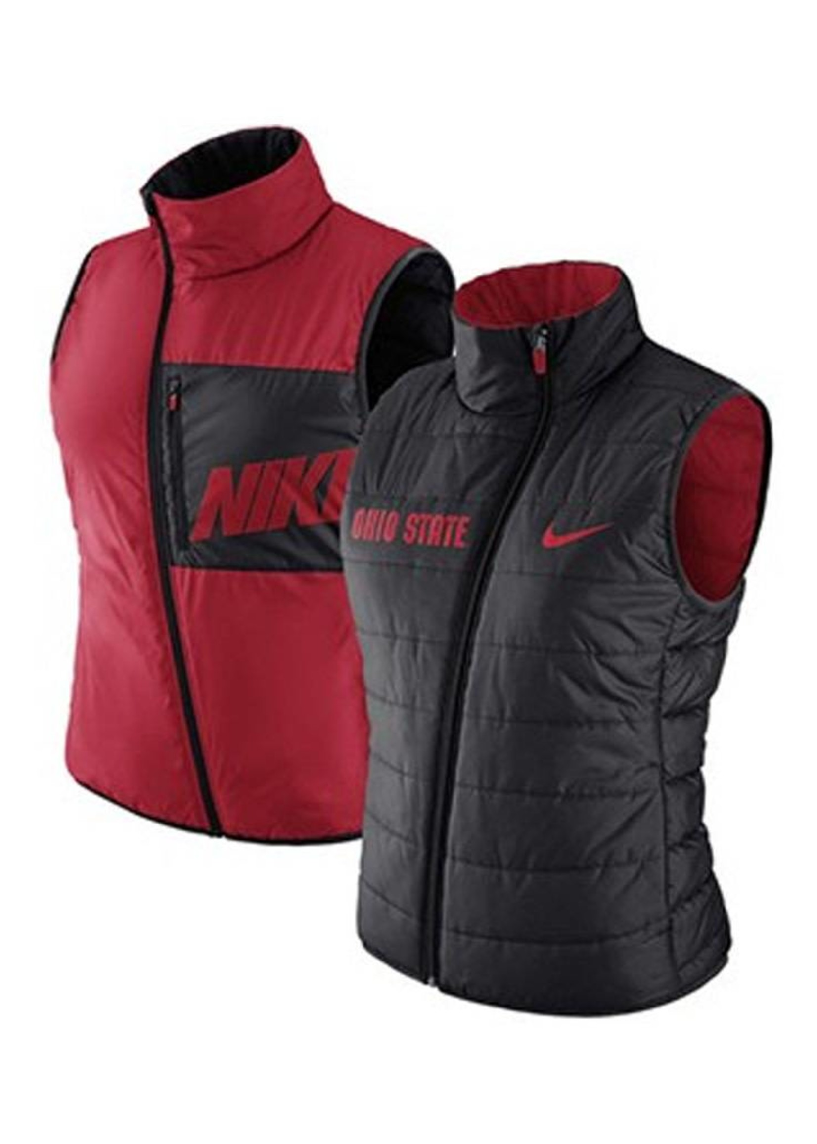 Nike Ohio State University Women's Reversible Puffer Vest