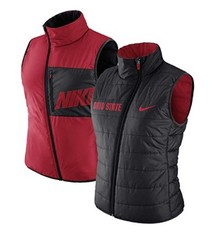 Nike Ohio State University Women's Reversible Puffer Vest