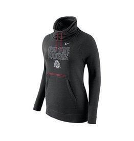 Nike Ohio State University Nike NCAA Women's Funnel Neck Hoodie