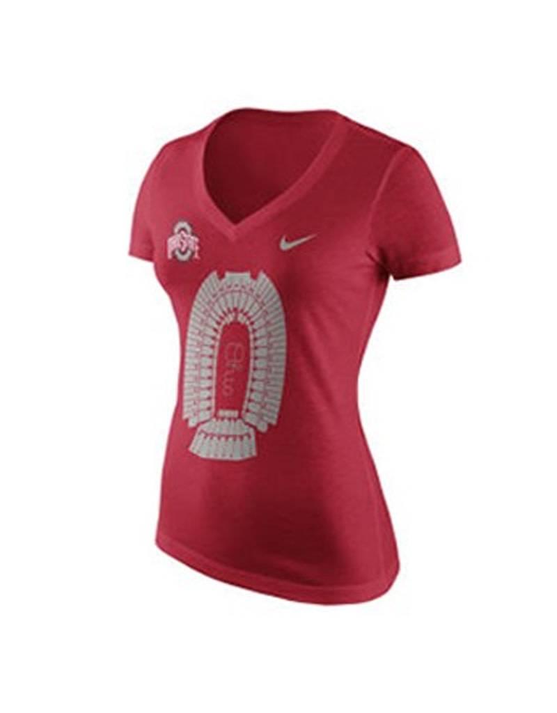 Nike Ohio State University Women's Stadium Graphic T-Shirt