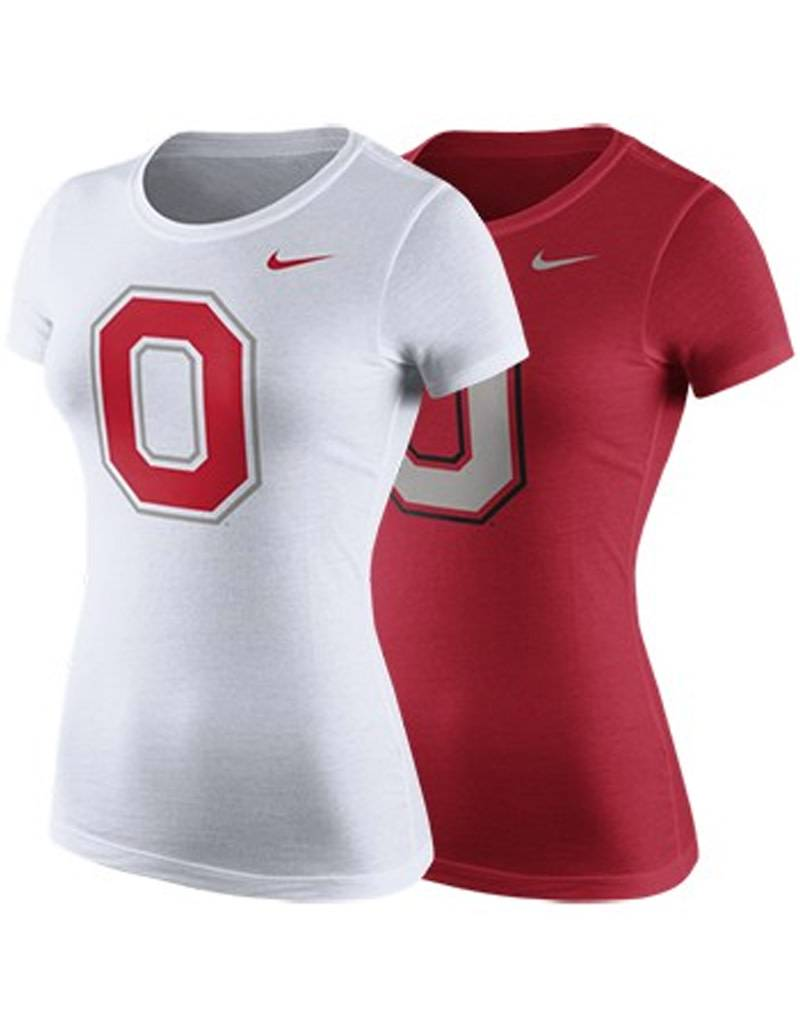 Nike Ohio State University Women's Cotton Block O Tee