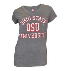 Top of the World Ohio State University Women's V-Neck Tee