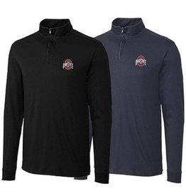 Cutter & Buck Ohio State University Belfair Pima Half Zip