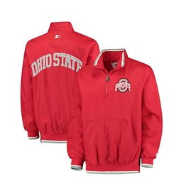 Starter Ohio State University Starter 1/2 Zip Jacket