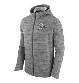 Nike Ohio State University Men's Fleece Full Zip Hoodie