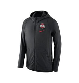 Nike Ohio State University Hyper Elite Full Zip Hoodie