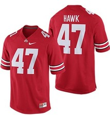 Nike Ohio State University AJ Hawk Players Jersey