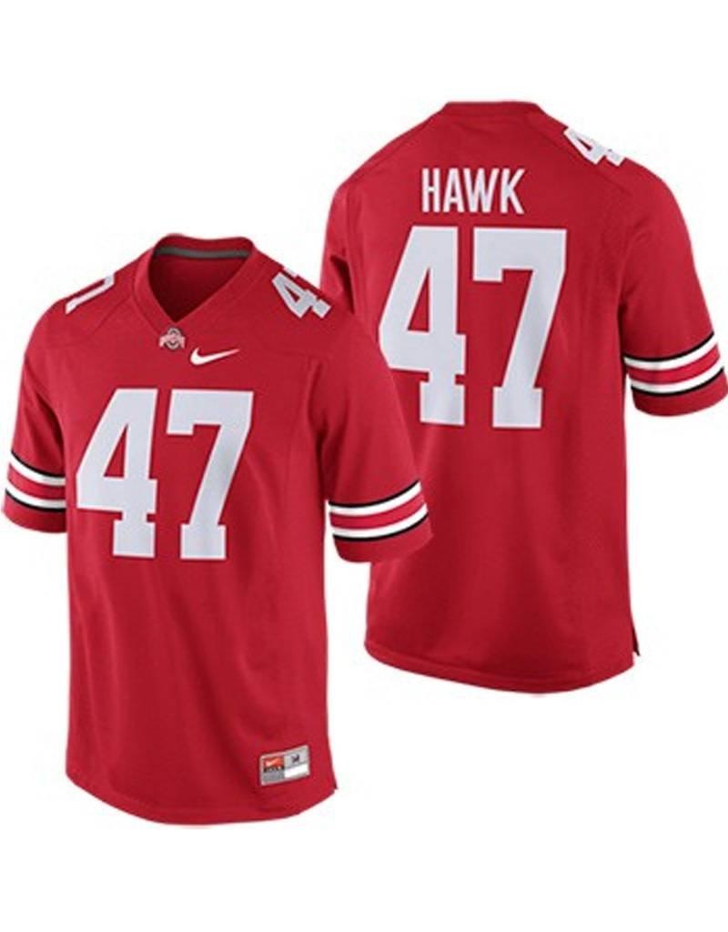 huge discount 2badb 31cf7 Nike Ohio State University AJ Hawk Players Jersey